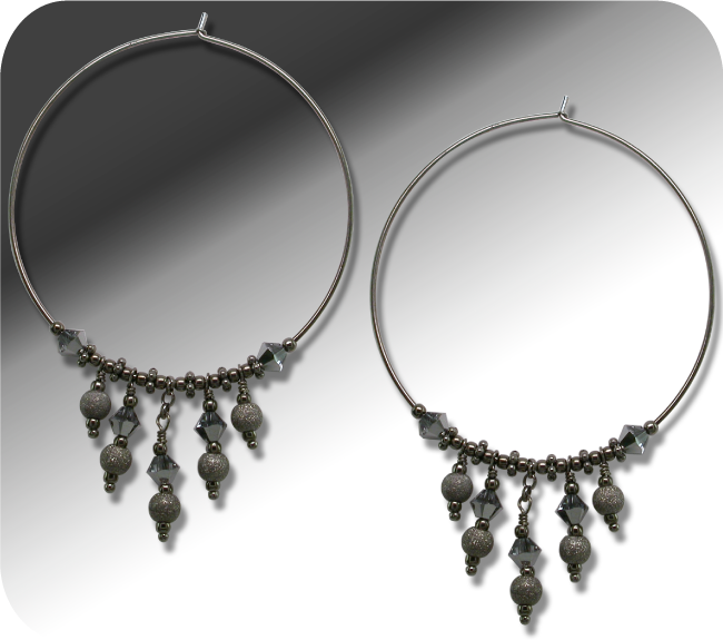 Earring hoop design