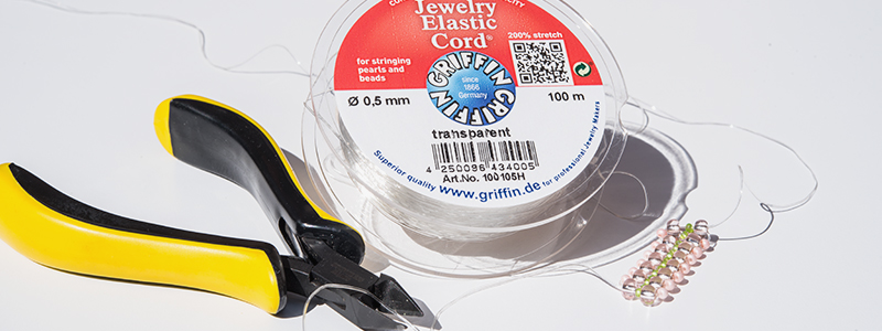 Griffin Elastic Jewellery Cord