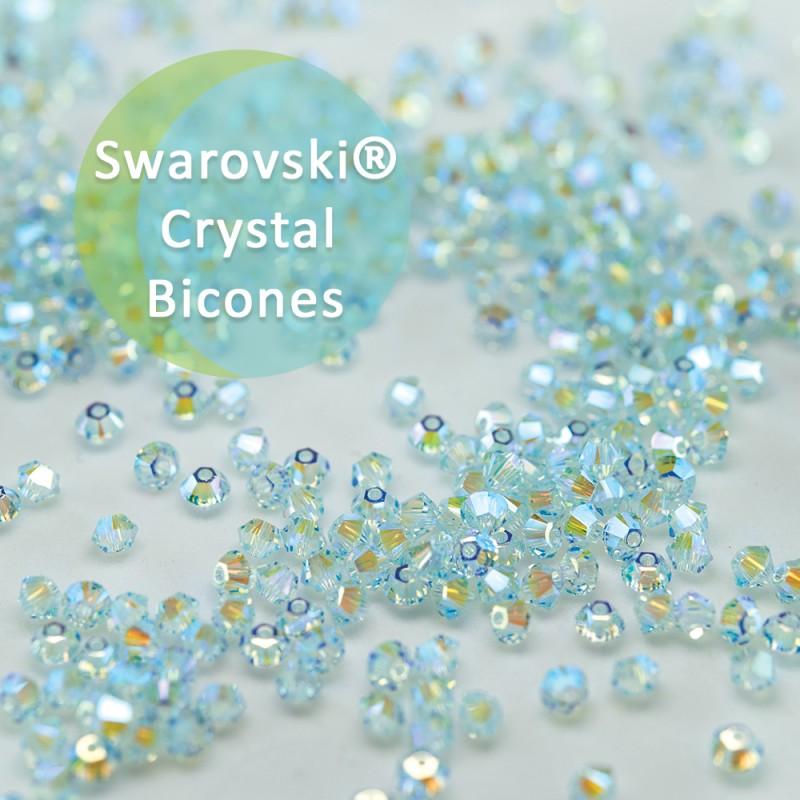 Swarovski Crystal Light Azore AB2x Bicones