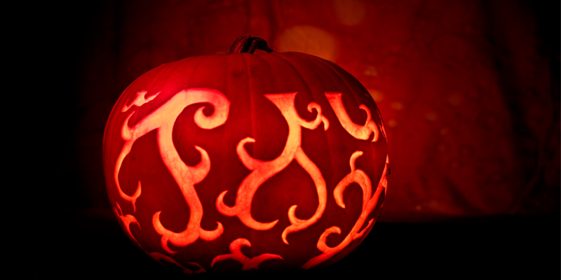 Fiery Pumpkin