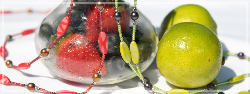 Flavours of summer - Exploring colour in jewellery design