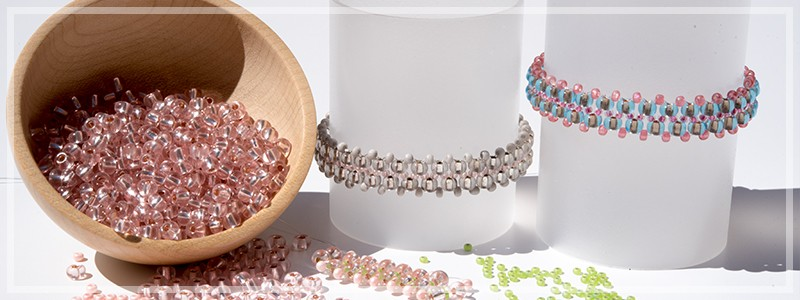 Your Colours, Our Design - Personalised Seed Bead Bracelets.