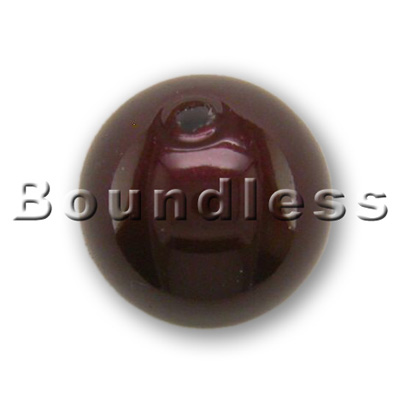 Swarovski Elements 5810 8mm Crystal Maroon Pearl