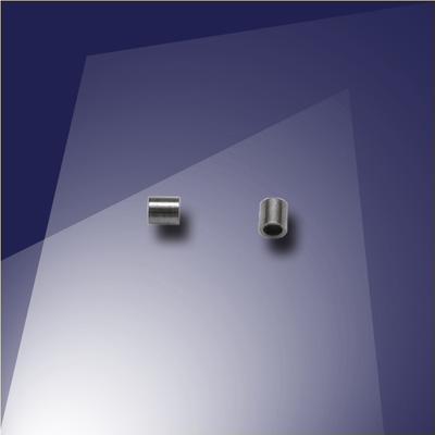 .925 Black Finish Sterling Silver Mini Crimp - Retail system