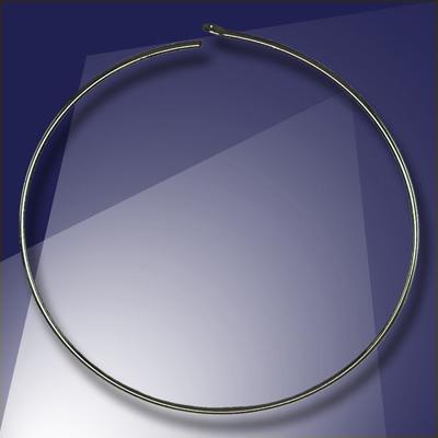 .925 Black Finish Sterling Silver Add-a-Bead 40mm diameter Hoop Earring