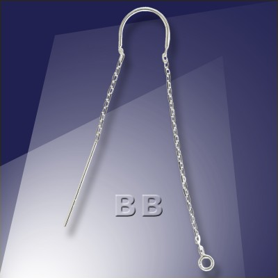 .925 Silver Ear Threaders - Retail system