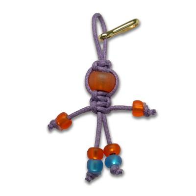 Asrai faery - Bead key ring charm