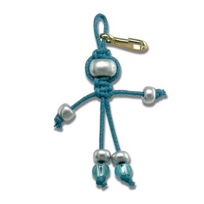 Knocker Faery - bead key ring charm