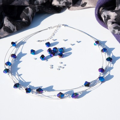 Mini Studio 3 strand Crystal Necklace Kit