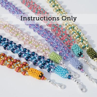 Mini Studio - Bubbly Spiral Rope Necklace beading instructions Kit