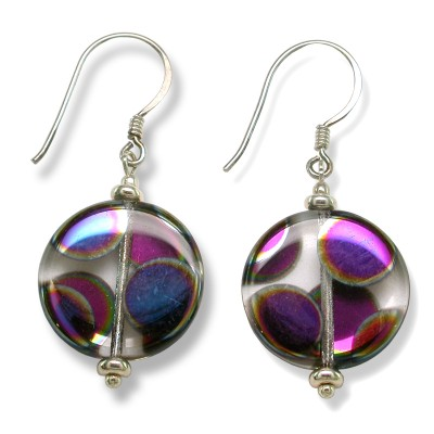 Mini Studio - Clear Crystal  Designer Glass Sterling Earring Kit