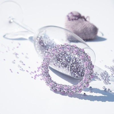 Mini Studio - Floris Bangle Bead Kit - Lavender