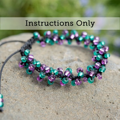Mini Studio - Macramé Spiral Bracelet Bead Instruction Kit