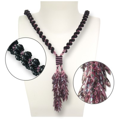 Mini Studio -  Pink Bubbly Lariat Bead Kit