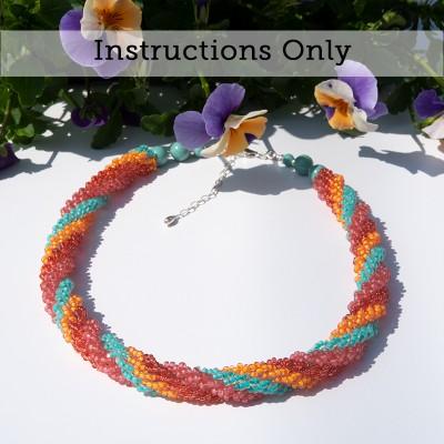 Mini Studio - Quadruple Spiral Rope Necklace instructions