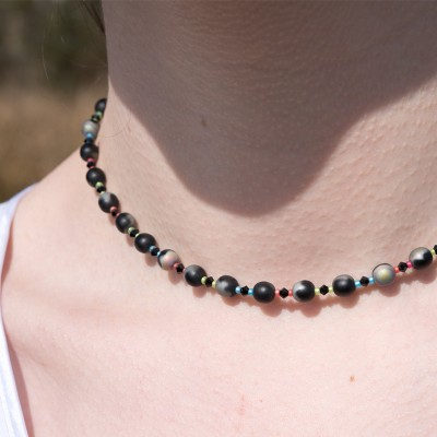 Mini Studio - Rainbow Necklace Bead Kit with Swarovski® Crystal
