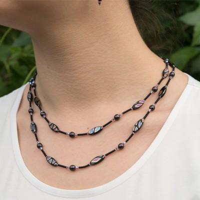 Mini Studio - Violet  Necklace Bead Kit