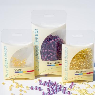Purple Horizons Preciosa Seed Bead and Swarovski® Bicone Colorway