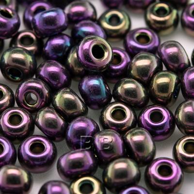 Purple Iris metallic size 5/0 seed beads- Retail system