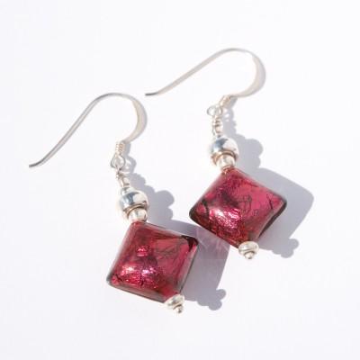 Siam Artisan glass bead Earrings