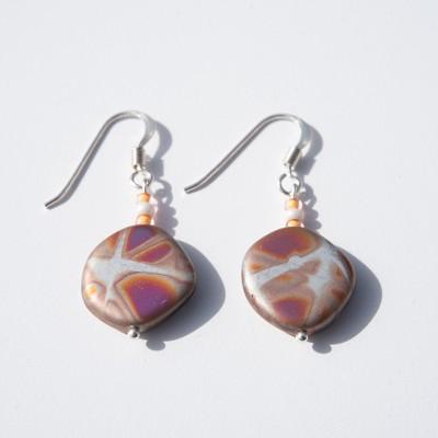 Silver Fantasy Bead Earrings