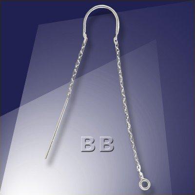 .925 Silver Ear Threaders