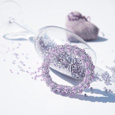 Mini Studio - Floris Bangle Bead Kit - Lavender