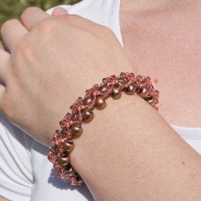 Mini Studio – Rose Copper Crystal Bracelet Bead Kit