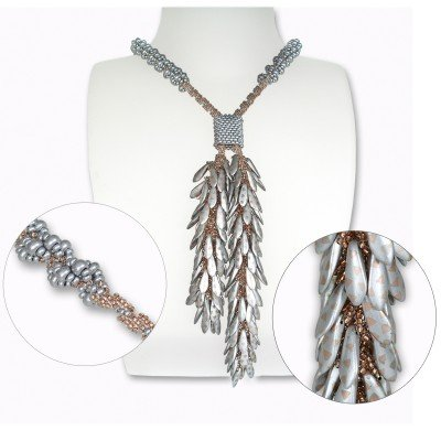 Mini Studio -  Silver Bubbly Lariat Bead Kit