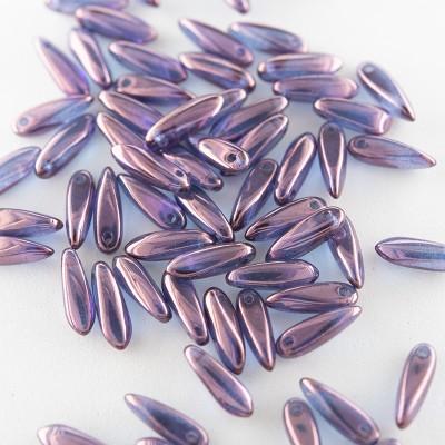 Sweet Lavender 3x11mm dagger bead