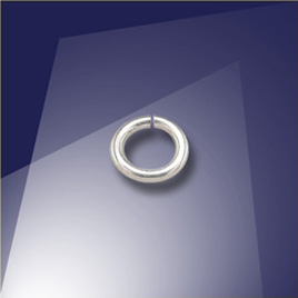 .925 Silver 0.76 x 4.5mm jumpring - Retail system