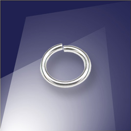 .925 Sterling Silver 0.89 x 5.8mm jump ring
