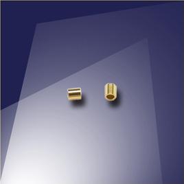 .925 Gold Finish Sterling Silver Mini Crimp - Retail system