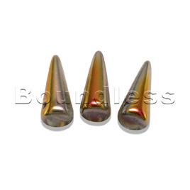 Crystal santander 5x13mm spike bead