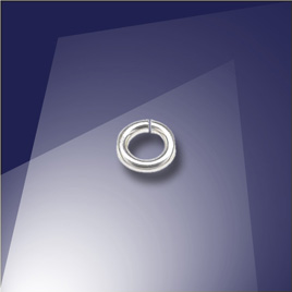 .925 Sterling Silver 0.77 x 3mm Mini Jump Ring