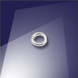.925 Sterling Silver 0.77 x 3mm Mini Jump Ring