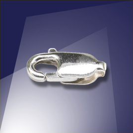 .925 Sterling Silver 10.1mm Lobster Clasp