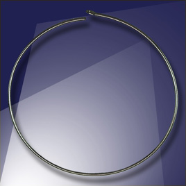 .925 Black Finish Sterling Silver Add-a-Bead 40mm diameter Hoop Earring