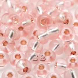 Ice Pink size 5/0 seed beads- Retail system