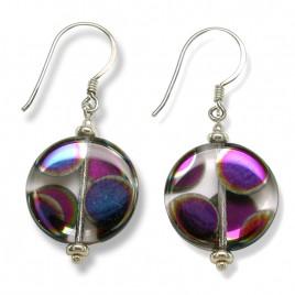 Mini Studio - Clear Crystal  Designer Glass Sterling Earring Kit