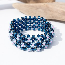 Mini Studio - Floris Bangle Bead Kit - Blu-berry Bliss