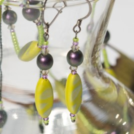 Mini Studio - Lime Necklace Bead Kit