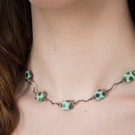 Mini Studio - Mint Necklace Bead Kit