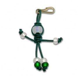 Pixie faery - Bead key ring charm