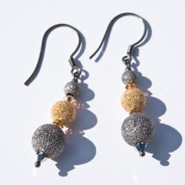 Stardust Three Tier Earrings Crystallized with Swarovski®