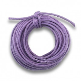 Tanzanite Polished Cotton Cord 1.00mm Dia