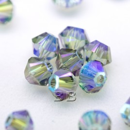 Violet Kiss Czech Glass and Swarovsk® crystal Bead Colorway