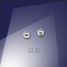 .925 Silver Bead or Crimp 1.8mm Dia with a 0.9mm Hole - Retail system