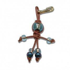 Brownie faery - Bead key ring charm
