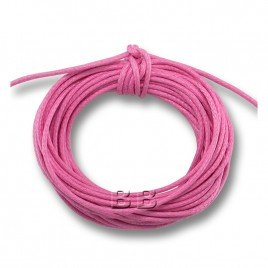 Light Pink Polished Cotton Cord 1.00mm Dia